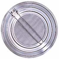 Premium Splatter Screen with Stainless Steel Mesh Guard for Safe Cooking to Shield Against Grease...