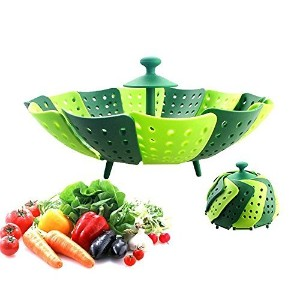 Food Steamer / Silicone Steamer / Foldable Steamer / Strainer / Foldable Collander / Foldable...