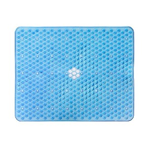15X12 Kitchen Sink Protector Mat - Large Clear Blue by Attraction Design