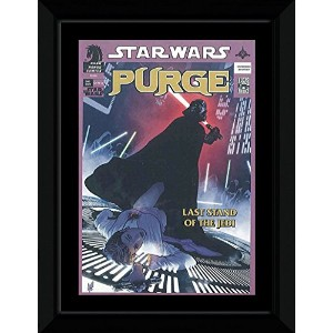 Star Wars - The Great Purge Framed Mini Poster - 14.7x10.2cm