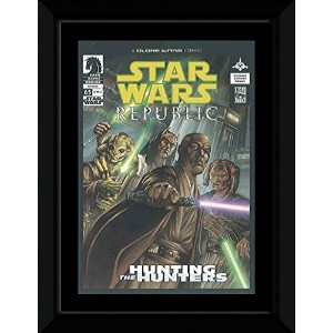 Star Wars - Hunting The Hunters Framed Mini Poster - 14.7x10.2cm