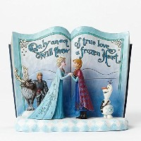 Disney Traditions Frozen Storybook Collectible Figurine by Enesco Gift [並行輸入品]