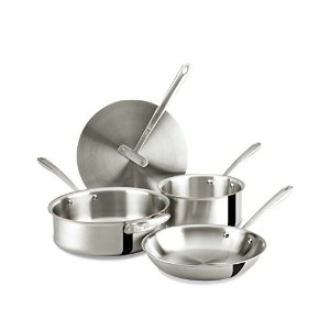 All-Clad, TKTM 4-Piece Foundation Cookware Set [並行輸入品]