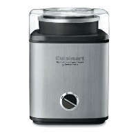 Cuisinart CIM-60PC Pure Indulgence Automatic Frozen Yogurt, Sorbet and Ice Cream Maker, 2 quart,...