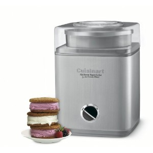 Cuisinart Pure Indulgence Frozen Yogurt, Sorbet and Ice Cream Maker ICE-30BCC [並行輸入品]