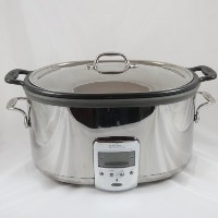 Williams-Sonoma All-Clad Deluxe Slow Cooker with Stainless Steel Lid. [並行輸入品]