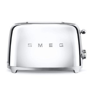 Smeg 2-Slice Toaster-Chrome [並行輸入品]