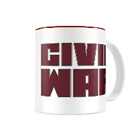 SD toys - Mug Marvel Civil War - Thermo Logo - 8435450204340