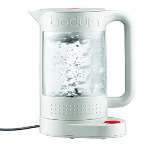 Bodum 電気ケトル 11659-913US 1L Bistro Electric Water Kettle, double Wall with Temperature Control ...