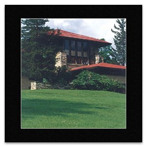 Frank Lloyd Wright - Hillside Home School Wisconsin 1902 Mini Poster - 40x40cm