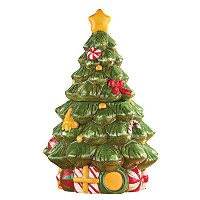 Christmas Tree Cookie Jar by Collections Etc
