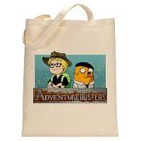 Adventure Time Mythbusters Parody Fan Custom Made Tote Bag