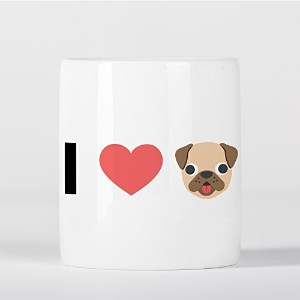 I Love Dogs Emoji Heart 貯金箱