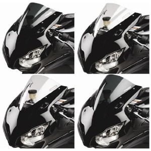 Hotbodies Racing K0410R-WSS-SMK Dark Smoke Stock Replacement SS Windscreen [並行輸入品]
