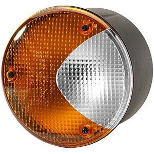 HELLA H24169021 4169 Series 100 Watt 12-36 V Heavy Duty Amber/White Turn/Side Marker Lamp [並行輸入品]