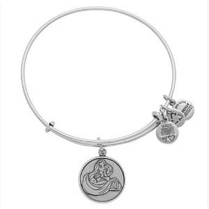 Disney World Alex and Ani Rapunzel Silver Charm Bangle Bracelet by Disney [並行輸入品]