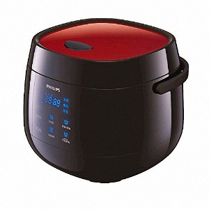 Philips Viva Collection Rice cooker HD3160/21 Mini Fuzzy logic 2L 6 3~4 persons 220V English Manual...