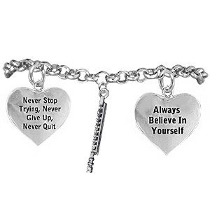 """The Perfectギフト、""""フルート"""" Never Give Up、Never Quit """"低刺激性調節可能なsafe-nickel、鉛フリー"""