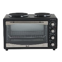 Avanti POB11A1B 1.1 CF Multi Function Oven, Black by Avanti