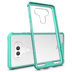 LG V20 Case,SOUNDMAE Armor Transparent Clear TPU Frame Shockproof Protective Case Scratch Resistant...