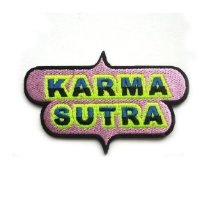 "(マコンエレスコア) MACON & LESQUOY ""KARMA SUTRA"" REPAIR PATCH ワッペン"