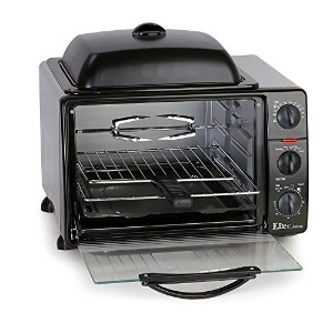 MaxiMatic ERO-2008S Elite Cuisine 6-Slice Toaster Oven with Rotisserie and Grill/Griddle Top [並行輸入品]