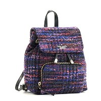 KATE SPADE(ケイトスペード) バックパック リュックサック EMERSON PLACE FABRIC WINE PXRU7280 ADJUSTABLE BACKPACK STRAPS...