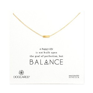 (ドギャード) DOGEARED Balance Small Rectangle Necklace
