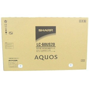 未使用【中古】SHARP AQUOS LC-60US20 液晶 60型 TV 【大型】 Y2520984