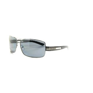 Prada SPR 54I 5Av-5Z1 Black Polarized Sunglasses