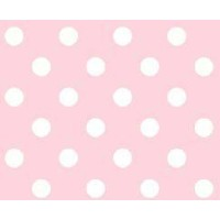 SheetWorld Fitted Pack N Play (Graco) Sheet - Pastel Pink Polka Dots Woven - Made In USA by...