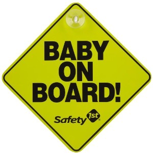 Dorel Juvenile Safety st Baby On Board Sign by Dexbaby