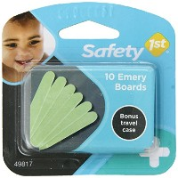 Safety 1st Emery Boards and Travel Case, 10-Count by Safety 1st