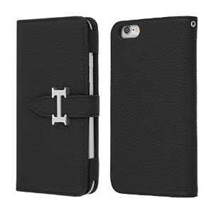 Highend berry iPhone6s / iPhone6 手帳型 ケース アイフォン6 / アイフォン6s H DIARY CASE ブラック