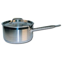 Winware Stainless Steel 3 Quart Sauce Pan with Cover by Winware