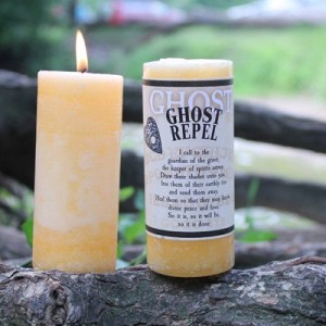 Ghost Candle - Ghost Repel by Coventry Creations