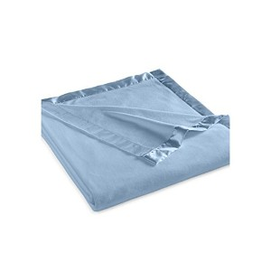 Martha Stewart Easy Care Soft Fleece Blanket (King, Cornflower Blue) by Martha Stewart