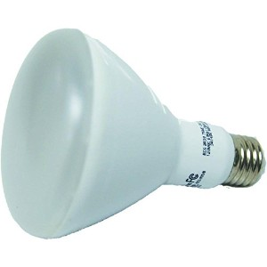 EcoSmart Equivalent Soft White BR40 Dimmable LED Light Bulb, 75W by EcoSmart