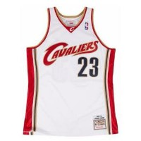 MITCHELL & NESS NBA AUTHENTIC COLLECTION JERSEY メンズ Cleveland Cavaliers | James, LeBron | White |...