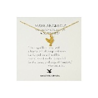 ドギャード Dogeared レディース アクセサリー ネックレス【Maya Angelou: The Caged Bird Sings Necklace】Gold Dipped