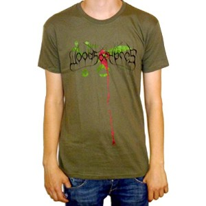Woods Of Ypres - Woods 4 The Green Album T-shirt (no back print) - Size Large