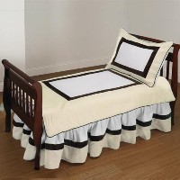 Baby Doll Bedding Classic Toddler Bedding Set, Ecru by BabyDoll Bedding