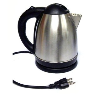 Crystaline Cordless Electric Kettle, 1.5 L by Crystaline