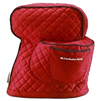 KitchenAid KSMCTIER Fitted Stand Mixer Cover, Empire Red by KitchenAid