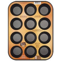 Baker's Secret 1114366 Essentials 12-Cup Muffin Pan by Baker's Secret