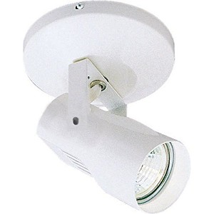 WAC Lighting ME-007LED-WT LED Monopoint 007 Spot Light with LED Lamp Included, White by WAC Lighting