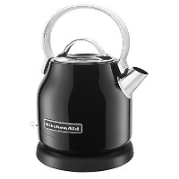 KitchenAid KEK1222OB 1.25-Liter Electric Kettle - Onyx Black by KitchenAid