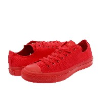 CONVERSE ALL STAR MONOCOLORS VD OX コンバース オールスター モノカラーズ VD OX RED