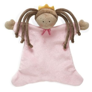 North American Bear 8.5 Little Princess Cozie Blankie, Tan by North American Bear