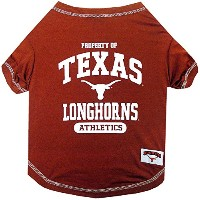 Texas Longhorns Pet Shirt LG